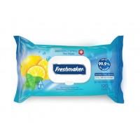Dezinfekčné antibakteriálne obrúsky citrón - Freshmaker 120 ks