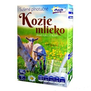 Sušené KOZIE mlieko 280g