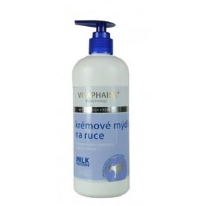 VIVAPHARM Kozie krémové mydlo na ruky 400 ml