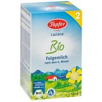Kojenecké mlieko Lactana Bio 2 (následná dojčenská výživa od 6. mesiaca)